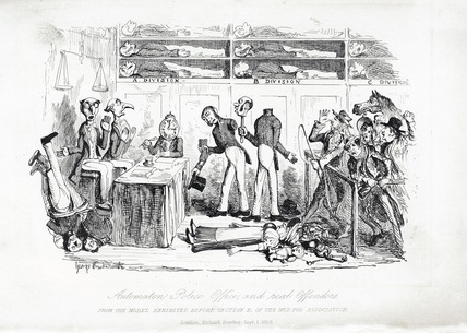Automaton Police Officers, and Real Offenders: 1838