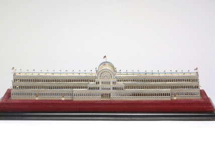 Model of the Great Hall of the Exhibition of 1851
