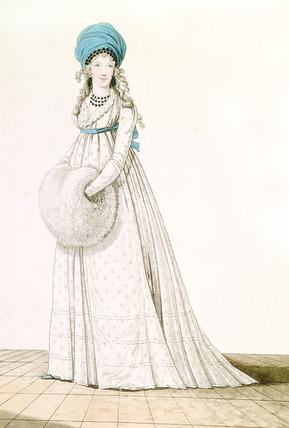 Evening Dress: 1795