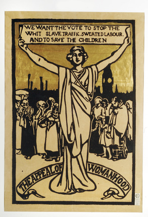 'The Appeal of Womanhood' poster: 1912