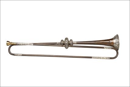 Bronze trumpet: c.1686 - 1700