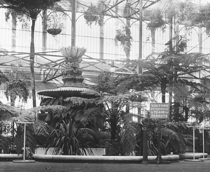 View of the Byzantine Court at the Crystal Palace: 20th century