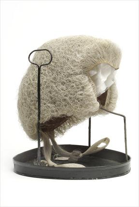Judge's wig: 1883