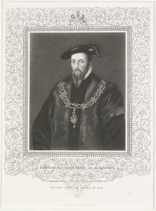 Portrait of the Duke of Somerset: 19th century