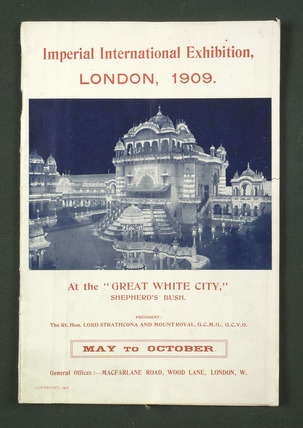 The Great White City: 1909