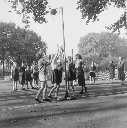 Coram's Field Playground School: 1959