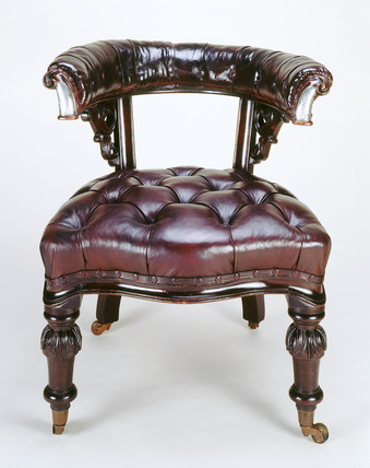 Charles Dickens' chair c.1858