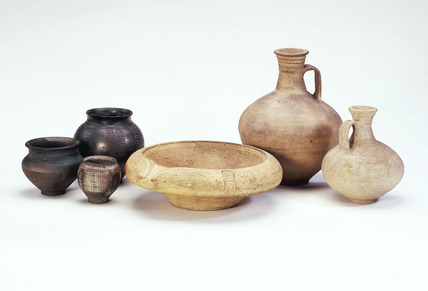 Selection of Roman pottery