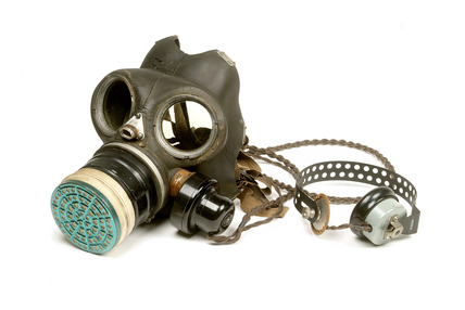 World War II civilian gas mask: 20th century