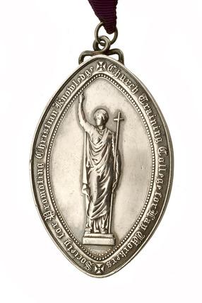 Lay reader's medallion: 1908