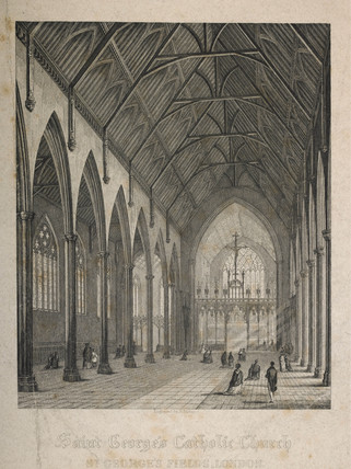 St. George's Catholic Church at St George's Fields: 19th century