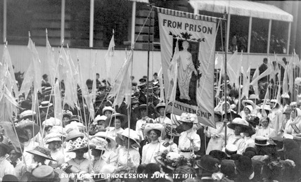 Suffragette Procession: 1911