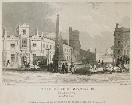The Blind Asylum at Southwark: 1848