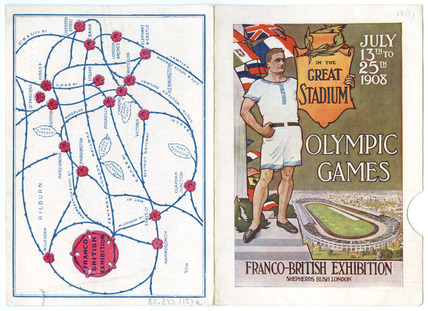 Olympic Games in the Great Stadium: 1908