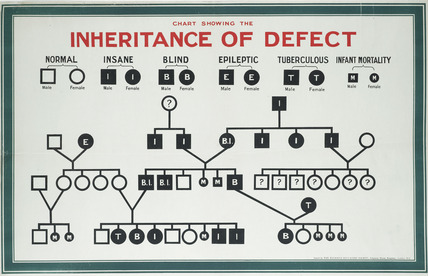 Inheritance of defect, Eugenics Education Society: 1926