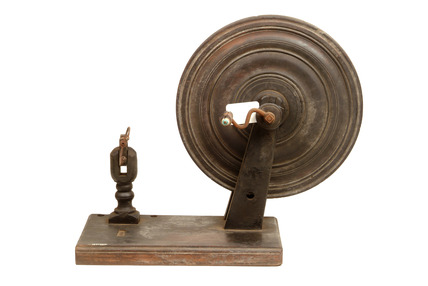 Weavers spool winder: 20th century