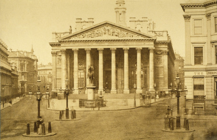 The Royal Exchange: 19th century
