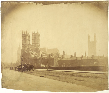 View of Westminster from Great Smith Street: 19th century