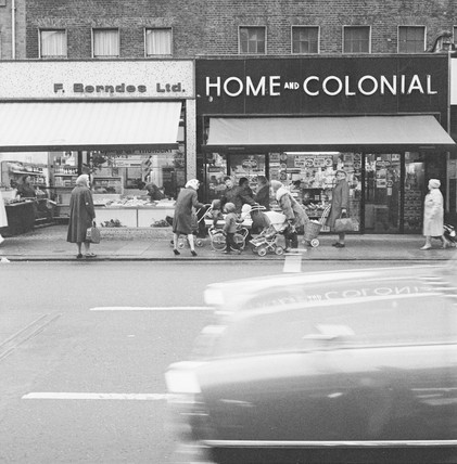 A Home and Colonial shop in Edmonton: 1968