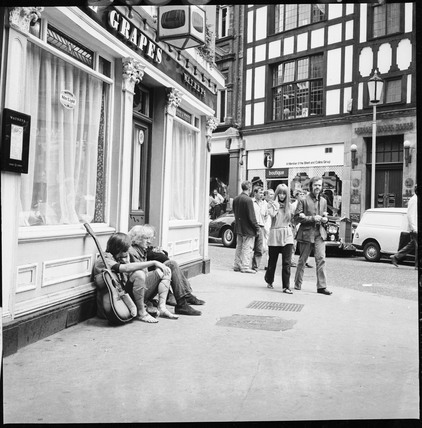 Carnaby Street during the 'swinging 60s': 1967