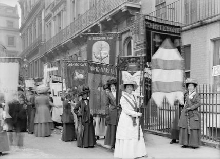 Women's Coronation Procession:1911