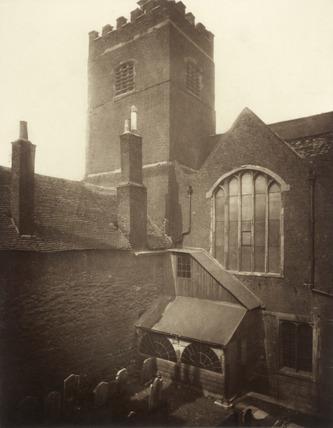 St. Bartholomew the Great: c.1880