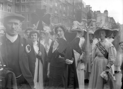 Women's Coronation Procession: 1911