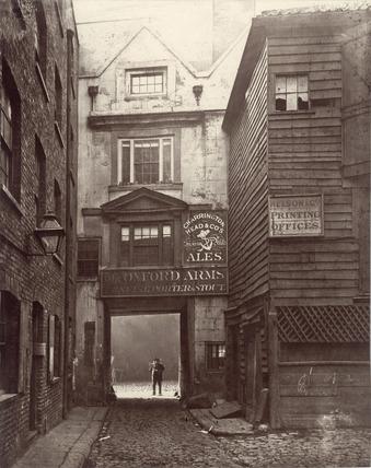 The Oxford Arms Inn: c.1880