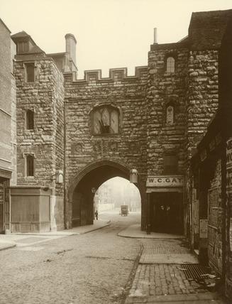 St John's Gate, Clerkenwell: c.1880