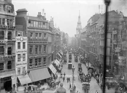 A view down Cheapside: 20th century