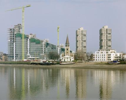 Montevetro residential development, Battersea Reach: 1999