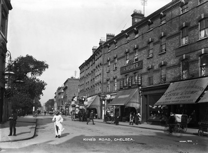 King's Road, Chelsea: 20th century