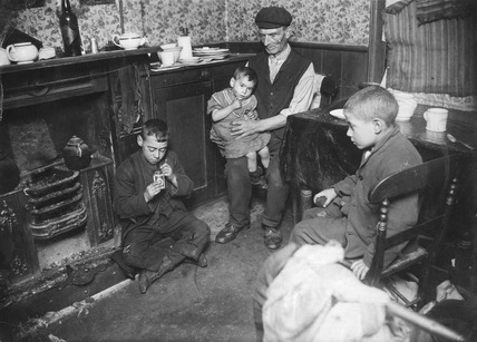 A Grandfather caring for children at home: 20th century