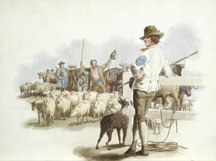Smithfield Drover: 19th century
