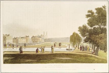 The Bason in Green Park: 1810
