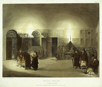 Watch-House at St Marylebone: 1809