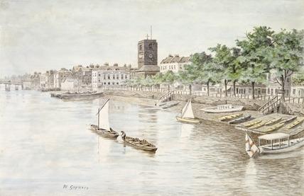 Cheyne Walk: 19th century