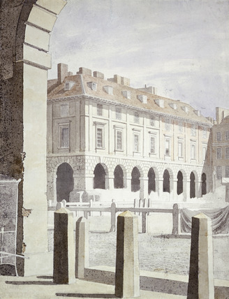 View of Piazza at Covent Garden:1768