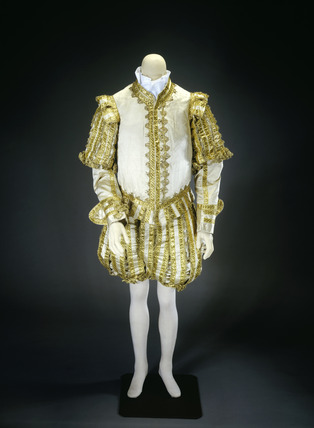 Man's Coronation suit and robes: 1821