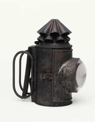 Lamp: 19th century