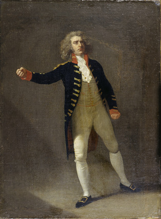 Joseph George Holman as Chamont in Otway's 'The Orphan': 1785
