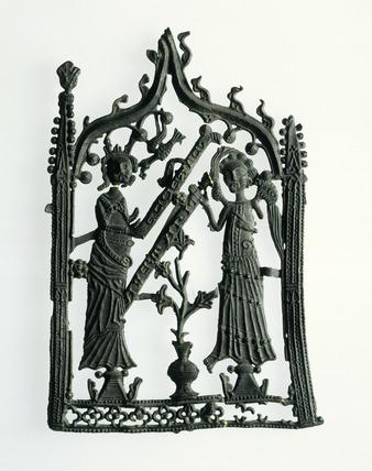Lead alloy pilgrim badge: 14th century