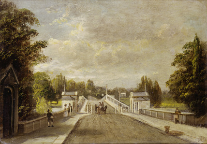 Richmond Bridge: 19th century