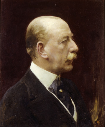 Portrait of Lewis, First Viscount Harcourt: 20th century