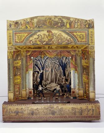 Toy Theatre: 1857