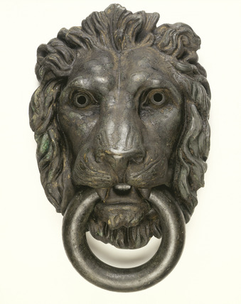 Bronze knocker, Tothill Prison: 1834