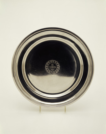 Communion dish: 1839