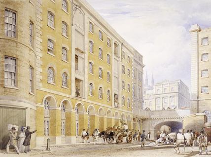 London Bridge: 1834