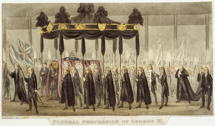 Funeral Procession of George III: 1820