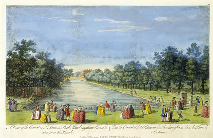 A view of the canal in St James's Park: 1794